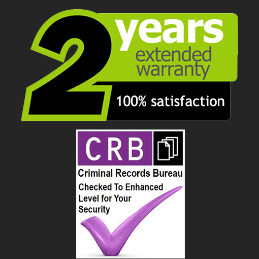 crb guarantee 2 years warranty