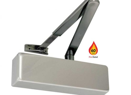 Fire rated door closer