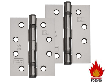 Hinges for fire door