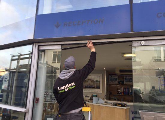 shop front door repairs