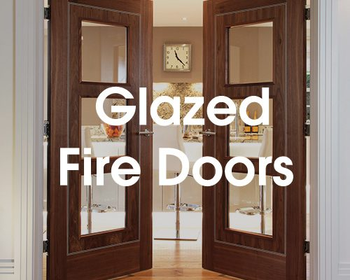 Fire door glass repair