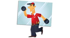 Door repairs glazing board service